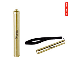 Kikkerland Brass Flashlight
